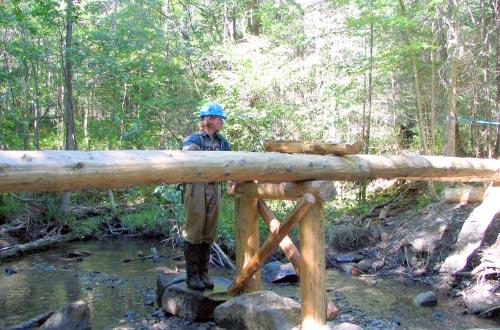 VYCC Backcountry Trail Building