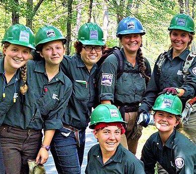 Conservation 9 (Female Leadership Development Crew)