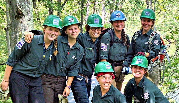 Conservation 9 (Female Leadership Development Crew)