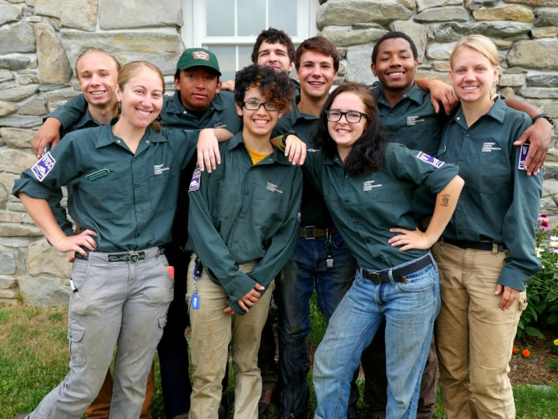 VYCC and US Forest Service Serve Deaf Youth, Win Public Lands Alliance Award