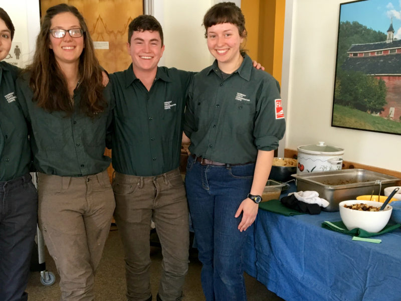 New Arrivals on the Farm – AmeriCorps Members and Hatchling Chicks