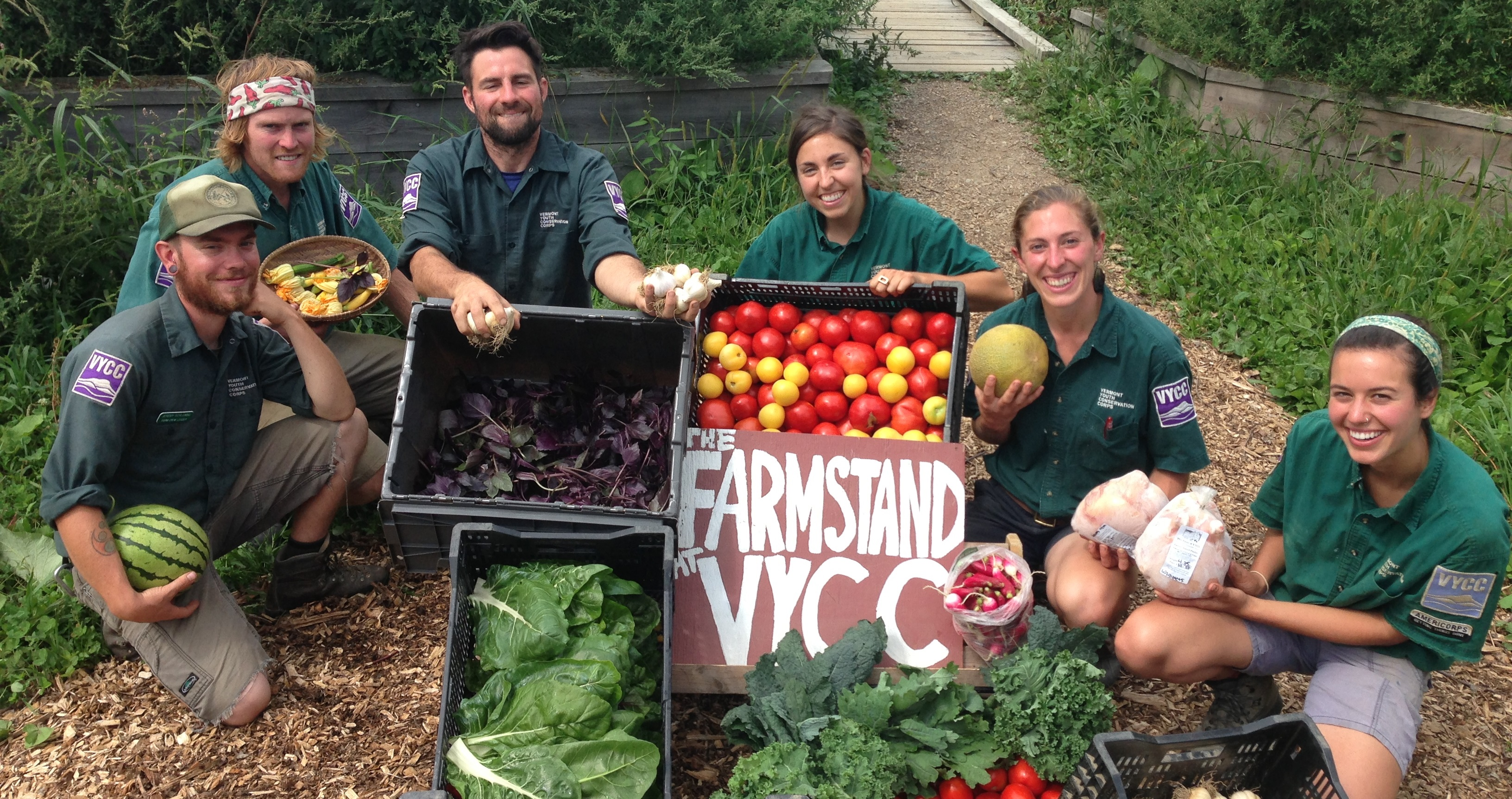 The Food & Farm at VYCC Health Care Share: It Connects Everyone With Food
