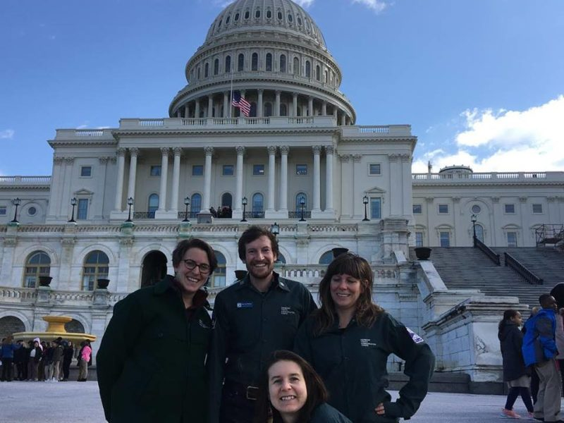Corps Networking + A Day On The Hill