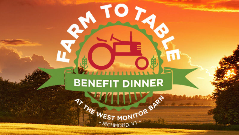 Farm to Table Benefit Dinner: Saturday, August 10
