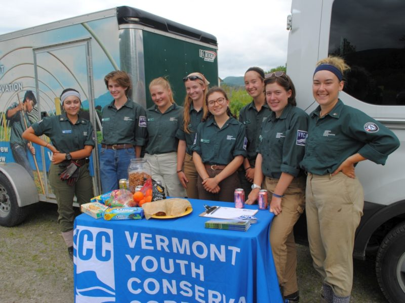 From Pownal to Newport: VYCC Crews Wow Locals!
