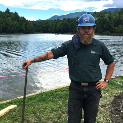 A Vermonter's Homecoming: Galen Returns To Build Bridges, Improve State Parks
